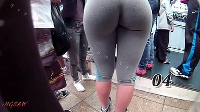 Candid Big Booty Bubble Butt Culo Brazil Thick Curvy Pawg BBW Ass Premium 52