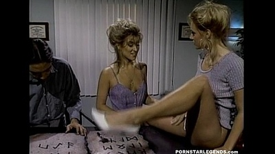 Young Jill Kelly fucked hard in a threeway