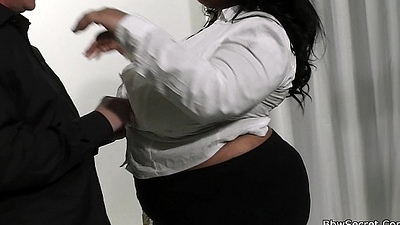 Married man cheats with mega-tits ebony plumper