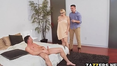 Realstate agent Sarah got both of her holes pounded
