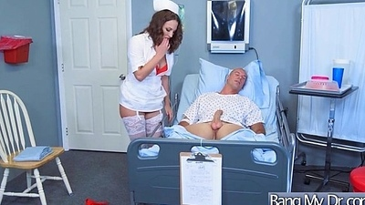 Gorgeous Slut Patient (Lily Love) Seduce And Bang With Doctor mov-22