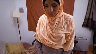 Fresh Faced Arab Teen Sucking On Dink Point Of View