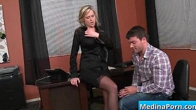 Secretary with big tits gets banged by her boss 08