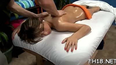 Massage table sex